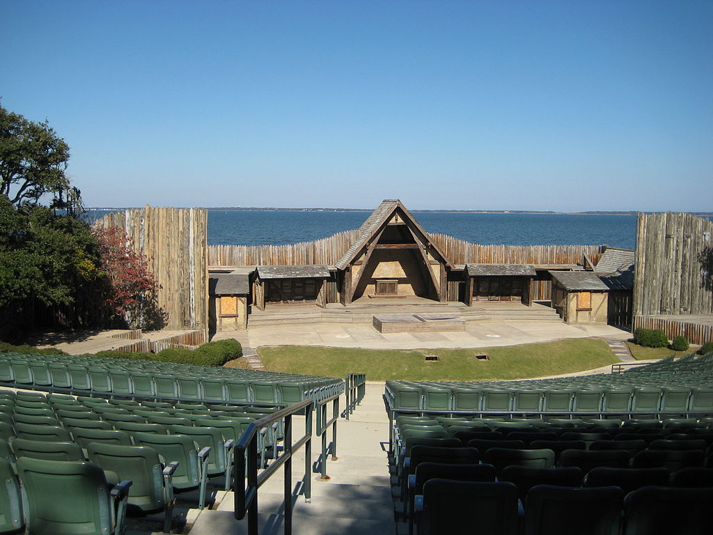 The Lost Colony at the Waterside Theatre
